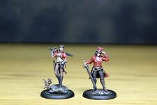 Wyrd Miniatures Malifaux The Guild Witchling Handlers WYR20121 well painted pair