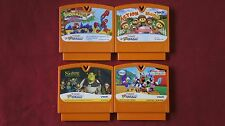 Mixed Lot of 4 Vtech Vmotion Games - Lot A - Orange Cartridge
