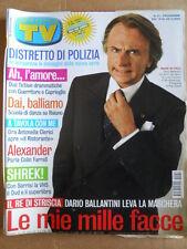 TV Sorrisi e Canzoni n°51 2004 Guerritore Caprioglio Dario Ballantini  [D53]