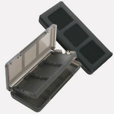 6 in 1 Black Game Case Holder Cartridge Box For Nintendo DS Lite DSi XL LL BT