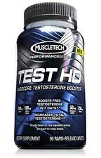 Muscletech - Test HD Hardcore Muscle Boosting Supplement Powder(Best By 10/16)