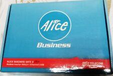 Modem-router Alice Businnes gate2 plus ADSL 2plus