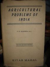 INDIA - AGRICULTURAL PROBLEMS OF INDIA BY  C. B. MAMORIA 1958 - PAGES 854