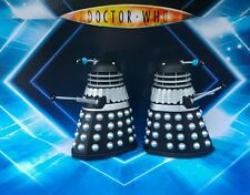C USTOM Supreme Black Silver Dalek figure Remembrance of the Daleks