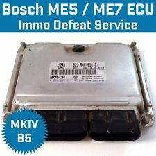 IMMO Defeat Service for BOSCH ECU ECM ME7 ME5 MK4 VW Audi Cancel Delete IMMO Off