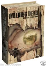 The Walking Dead Limited Comic Box Season 1&2 Blu-ray 5-Disc German Region B/2