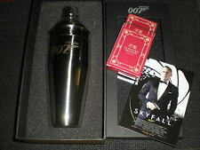 James Bond 007 -  Skyfall Cocktail Shaker & Playing Cards - Spectre