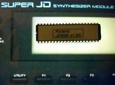 Roland JD-990 firmware OS upgrade: v 1.05