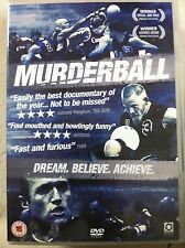 MURDERBALL ~ 2004 Inspiring Quadriplegic / Quad Rugby Documentary | UK DVD
