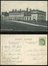 ROYALTY HAREWOOD HOUSE LEEDS 1907 PPC POSTED...VERY FINE HAREWOOD CDS PMK