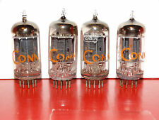 4 x 12au7A RCA Tubes *Long Black Plates*D Getter*Very Strong Matched Quad*