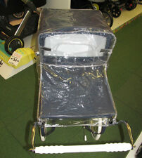 NEW SILVERCROSS CHATSWORTH VINTAGE TOY DOLLS PRAM RAINCOVER/PROTECTOR!