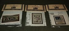 """""""Told in a Garden"""" cross stitch patterns lot of 3 THE QUILTING, THE AUCTION"""