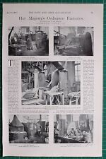 1900 BOER WAR ERA ORDNANCE FACTORIES ENFIELD LOCK Pt 4 BAYONET SWORD MANUFACTURE