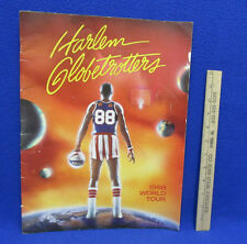 Harlem Globetrotters 1988 World Tour Program Info Players Tour Basketball