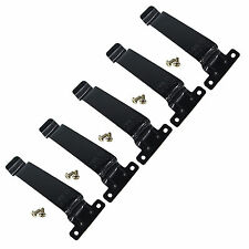 5×Stainless Steel Metal Iron Belt Clip For KENWOOD TK278/378/388/2107/3107 Radio