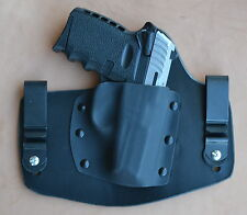 leather/kydex hybrid IWB tuckable holster for SCCY CPX-1 and CPX-2 9mm