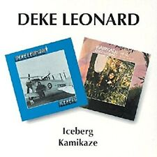 Deke Leonard Iceberg/Kamikaze 2-CD+Bonus Tracks NEW SEALED 1995 Man