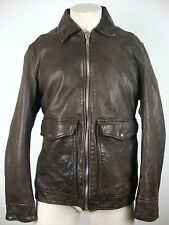 7 FOR ALL MANKIND BIKER JACKET LEATHER Herren Lederjacke Gr.XL NEU mit ETIKETT