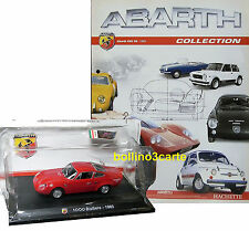 ABARTH 1000 BIALBERO (1963) - 1/43 - ABARTH COLLECTION n. 01