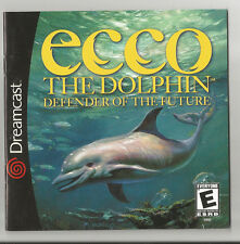 Ecco the Dolphin (Dreamcast, manual only)
