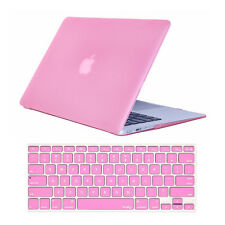 "Laptop Crystal Hardcase Shell+Keyboard Cover For Mac Macbook Air 13"" A1369 A1466"