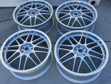 "Racing Hart Evolution C2 19""x7.5""ET44 4:100 And 4:114.3 ""Silver""JDM Set Of 4 Pcs"