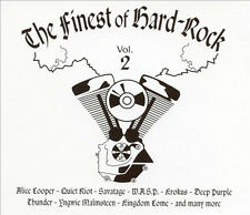 THE FINEST OF HARD ROCK Volume 2 (2CD), Brand New & Sealed