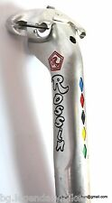 SHIMANO aero 600 SEATPIN SEATPOST panto engraved Rossin 27.2 Vintage Race Bike
