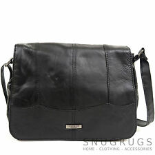 Ladies / Womens Soft Nappa Leather Casual / Practical Handbag / Shoulder Bag
