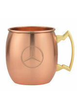 Mercedes Benz Moscow Mule Copper Mugs Set of 2