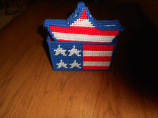 STAR COASTER SET -  6 COASTERS AND HOLDER (NEW)