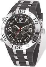 US Marines Wrist Armor C23 Watch, Black Dial & Black Rubber Strap