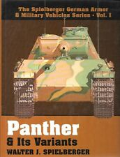 Schiffer Panther & Its Variants Spielberger German Armor & Military Vehicles