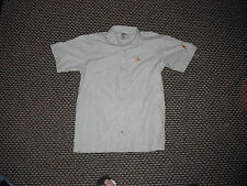 Adidas Small Mens Greyish Green Casual Dress Shirt