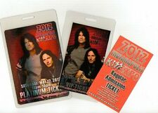 2012 Indianapolis KISS Expo Pass Set Tommy Thayer Eric Singer