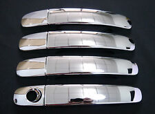 4 x Chrome Door Handle Covers Trims For Ford Ranger Double Cab PX T6 12 13 14 15