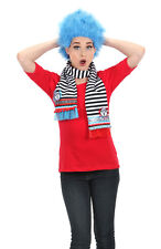 DR. SEUSS THING 1 AND THING 2 WIG BLUE NEW