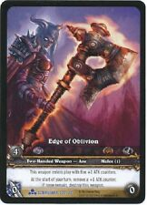 WOW TCG Scourgewar Extended Art EA Promo Edge of Oblivion NM