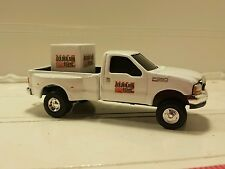 1/64 CUSTOM Ford f350 golden sun dealer truck w/   feed pallet ERTL farm toy