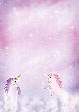 magisches Einhorn Motivpapier Briefpapier 50 Blatt DIN A4 Mädchen Pony Pferde
