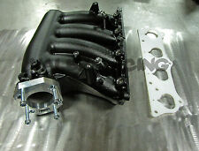 Honda RBC Pre-Modified Intake Manifold Black Powder Coated w/ Adapter & Hardware