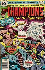 THE CHAMPIONS #6  MARVEL  1976  CHRIS CLAREMONT  fine condition