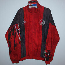 Vintage Ajax Holland training jacket Umbro 96/97 van Gaal Kluivert van der Sar