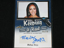 MELISSA GORGA  2014 LEAF  keeping real #/10  AUTO  real housewives of new jersey