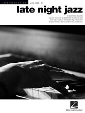 LATE NIGHT JAZZ - 24 JAZZ FAVORITES FOR PIANO SOLO SHEET MUSIC SONG BOOK