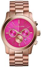 *NEW* MICHAEL KORS RUNWAY LADIES WATCH MK5931 - PINK DIAL ROSE GOLD CHRONOGRAPH