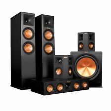 HOME THEATER SYSTEM SPEAKERS KLIPSCH 5.1 RP-280F +  RP-450C + RP-250S + R-115SW