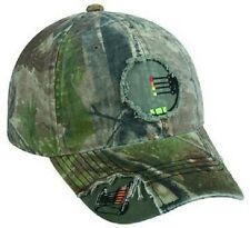 Realtree Camo 4 Pin Bow Sight Crosshairs / Archery Hunting Hat / Cap  - NEW!