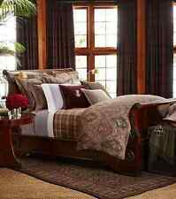 Ralph Lauren ~ Great Compton ~ KING Bed BLANKET ~ Forest Glen Purple Plaid $330